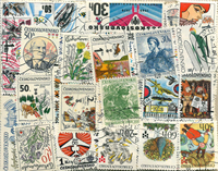Czechoslovakia - 200 different commemorative stamps