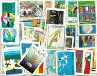 99枚不同巴西大幅新票个别信销票