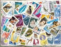 Romania - 1000 different stamps