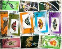 500 francobolli differenti Mongolia