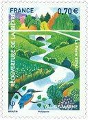 法国邮票 2016 马恩河谷省-比埃夫勒 新邮 外国邮票 邮票收藏