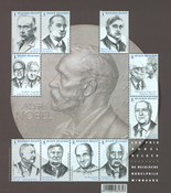 Belgium - Nobel - Mint stamp