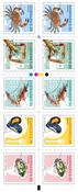 Denmark - Shellfish - Mint booklet