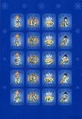 Åland - Feuille de vignettes de Noël 2002
