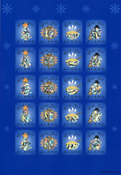 Aland - Viñetas Navidad 2002