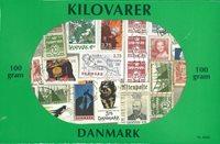 Denemarken - kilowaar postzegelmix - 100gr