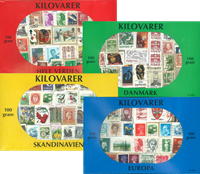 Various countries - 4 x 100 g (3.53 oz) kiloware