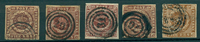 Danmark - 4 RBS - 1851-54