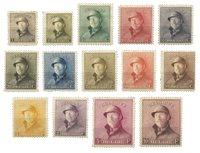 Belgique 1919 - OBP 165-178 - Neuf avec charnieres