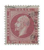 Norvège 1856-57 - AFA 5 - Oblitéré