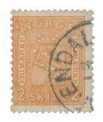 Norvège 1867-68 - AFA 12 - Oblitéré