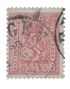 Norway 1867-68 - AFA 15a - Cancelled