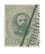 Norge 1878 - AFA 32 - Stemplet