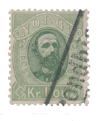 Norway 1878 - AFA 32 - Cancelled