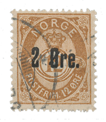 Norge 1888 - AFA 48 - Stemplet