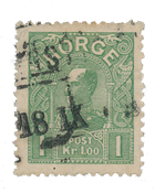 Norge 1907 - AFA 67 - Stemplet