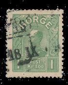 Norvège 1907 - AFA 67 - Oblitéré