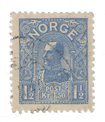Norge 1907 - AFA 68 - Stemplet