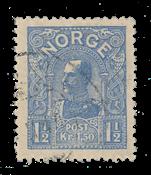 Norvège 1907 - AFA 68 - Oblitéré