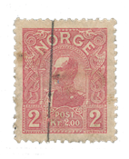 Norge 1907 - AFA 69 - Stemplet