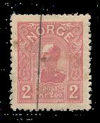 Norvège 1907 - AFA 69 - Oblitéré