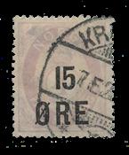 Norvège 1908 - AFA 70 - Oblitéré