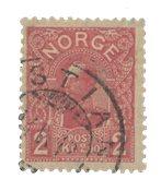 Norvège 1909 - AFA 74 - Oblitéré