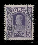 Norvège 1917-19 - AFA 96 - Oblitéré