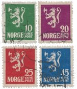 Norge 1922-24 - AFA 103/06 - Stemplet