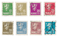 Norge 1926 - AFA 118/25 - Stemplet