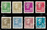 Norvège 1926 - AFA 118/25 - Oblitéré