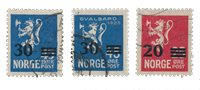 Norge 1927 - AFA 128/30 - Stemplet