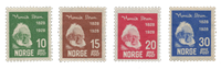 Norge 1928 - AFA 135/38 - Ubrugt