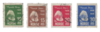 Norge 1928 - AFA 135/38 - Stemplet