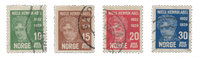 Norge 1929 - AFA 148/51 - Stemplet