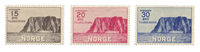 Norge 1930 - AFA 159/61 - Ubrugt