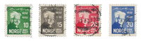 Norge 1932 - AFA 163/66 - Stemplet