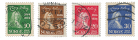 Norge 1934 - AFA 167/70 - Stemplet