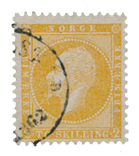 Norway 1856-57 - AFA 2 - Cancelled
