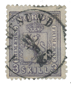 Norway 1867-68 - AFA 13 - Cancelled