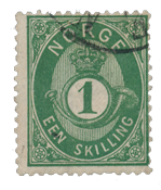 Norway 1872-75 - AFA 16a - Cancelled