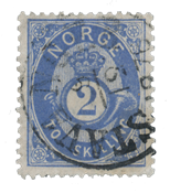Norway 1872-75 - AFA 17 - Cancelled