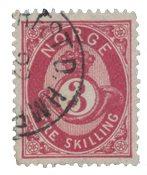 Norvège 1872-75 - AFA 18 - Oblitéré