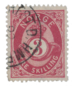 Norway 1872-75 - AFA 18 - Cancelled