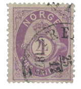 Norway 1872-75 - AFA 19 - Cancelled