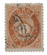 Norway 1872-75 - AFA 20 - Cancelled