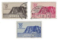 Norge 1930 - AFA 159/61 - Stemplet