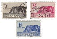 Norvège 1930 - AFA 159/61 - Oblitéré