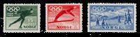 Norvège 1951 - AFA 381/83 - Neuf