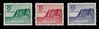 Norvège 1957 - AFA 422/24 - Neuf